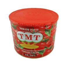 Pâte de tomate faite de légumes frais