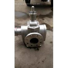 Bomba de engranajes de aceite hidráulico para la máquina de bomba eléctrica de transferencia de aceite para bomba de pulverización agrícola