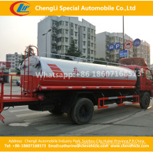 7-8cbm 4X2 Water Tank Truck Vehicles