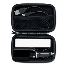 Promotional powerbank travel sets