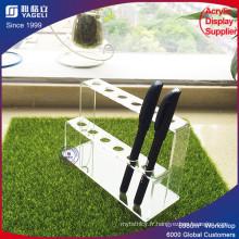Support d'affichage à stylo acrylique pour la vente au détail le plus vendu