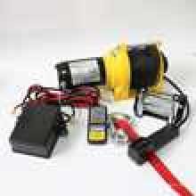 SUV Camión Winch 12000lbs 12VDC CE Aprobado Power Driven Winch