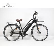 Bicicleta eléctrica de la bici del motor del eje trasero de 36v Bafang 250w con la batería panasonic
