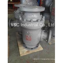 Vanne de recirculation automatique du type vertical en acier inoxydable