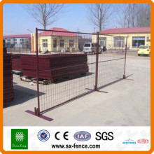 hot-dipped galvanized Canada temporary fence