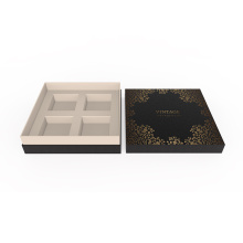 Black Wholesale Kartonnen Moon Cake Box