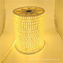 Luces de tira llevadas dimmable del poder más elevado 110v 220v, tira llevada los 50m, tira llevada bendable