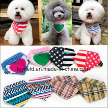 Dog Bandana Cotton Polyester Scarf Printed Pet Bandana