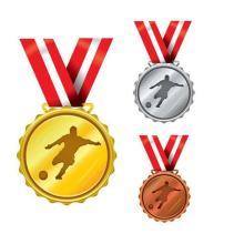 Сувенирная дешевая гравированная специальная золотая медаль