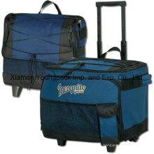 Fashion Collapsible 54-Can Insulated Rolling Cooler Bag