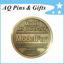 Moneda conmemorativa única del cobre de la antigüedad del metal de la venta de la fábrica (coin-079)