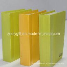 """Logotipo impresso cor plástico PP / PVC 4 x 6 """"álbuns de fotos com caixa clara"""