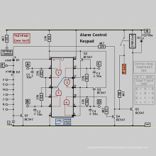 Control remoto inalámbrico Tarjeta PCB Bluetooth para dispositivos inteligentes Bluetooth