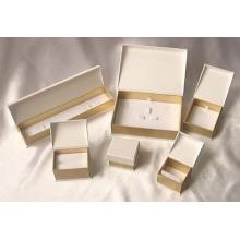 Caixa de embalagem de jóias de cartão rígido de alta qualidade de luxo