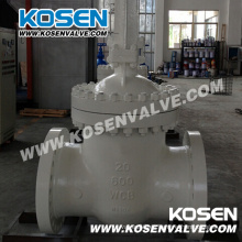 Engranaje de funcionamiento de alta presión válvulas de compuerta