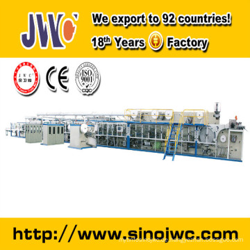 CE & ISO9001 Certificated Low Cost Pull auf Baby Windel Making Machine