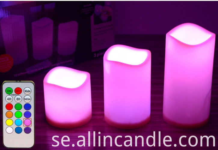 18 Key Led Candles