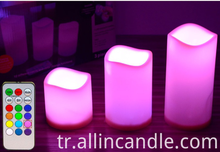 18 Key Led Candles 6