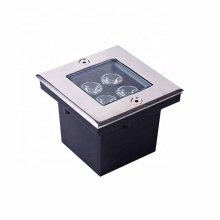 Square LED Underground Light Buried Recessed Light