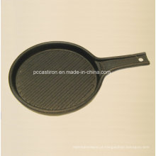 Frigideira pré-preparada de ferro fundido