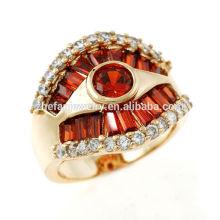 anéis do polegar das mulheres anéis de meninos moda banhado a ouro jóias