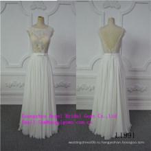 Сексуальный дизайн с топ кружева свадебное платье