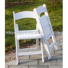 Chaise pliante résine partielle
