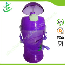 BPA Free Straw Water Bottle with Custom Logo and Color