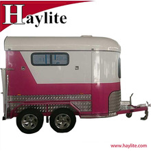 Best-selling horse box trailer with horse trailer ramp