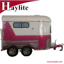 Лучшие продажи прицепов для перевозки лошадей коробка с лошадь трейлер рампы