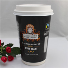 fashion Style Top Quality Logo Printed Custom Disposable Paper Cup