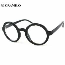 gafas redondas occidentales marco de anteojos de muestra