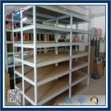 Rack de armazenamento de parafusos de ângulo com fenda de peso leve