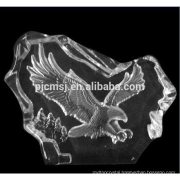Crystal Eagle Figurines Glass Iceberg For Home Decorations
