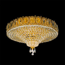 Cheapest Factory for Ceiling Lights Crystal large luxurious round crystal ceiling light export to Germany Suppliers