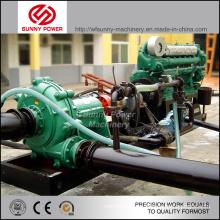 12inch Schlammpumpe angetrieben durch Dieselmotor 200HP