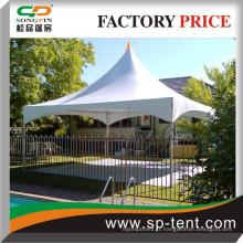 Easy Up blanc 5x5m Canopy en gros en cadre en aluminium ou en acier