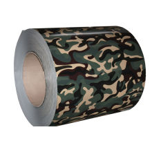 Construction Camouflage Color Coated Steel Coil Ppgi Astm With Protective Film