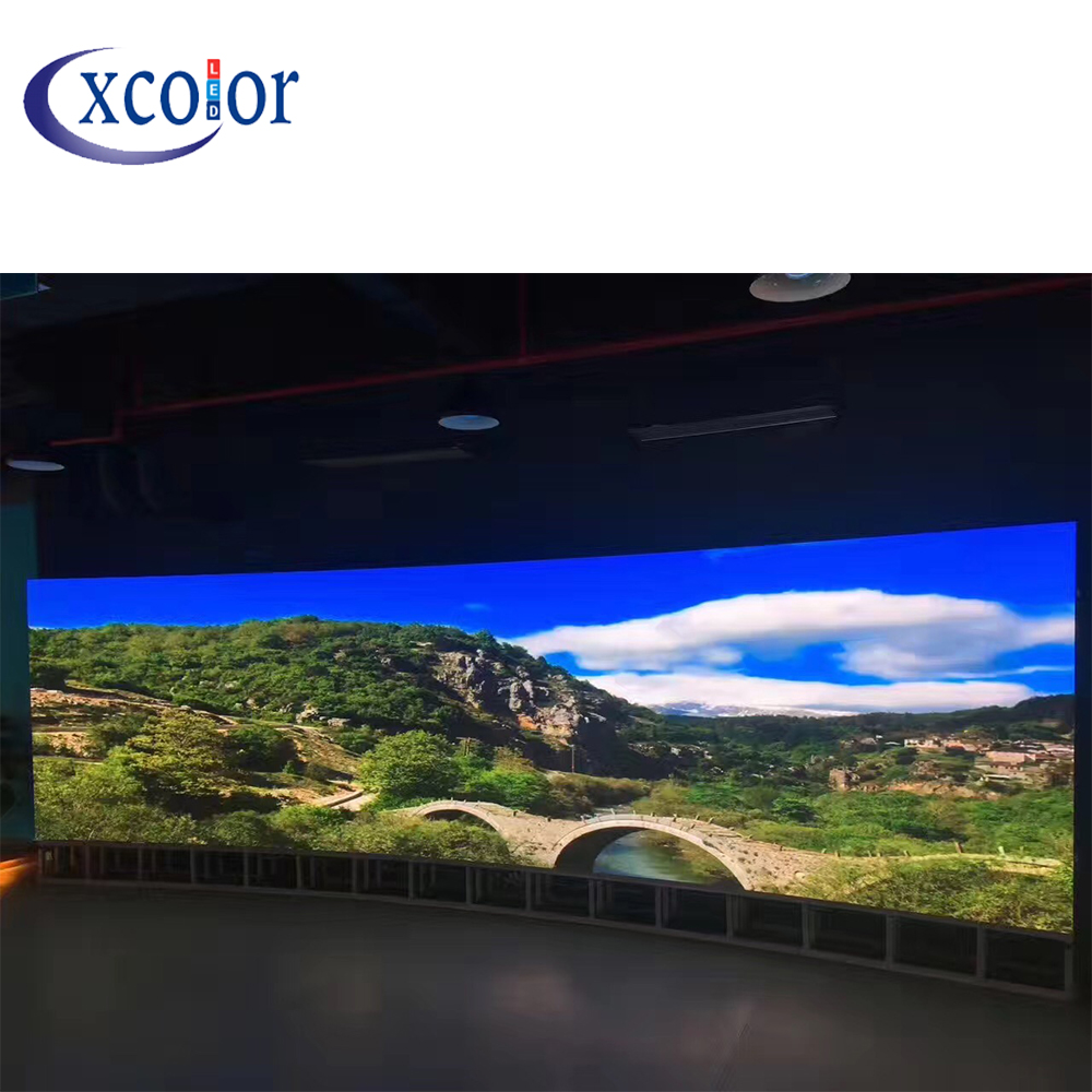 Curved Led Panel Screen