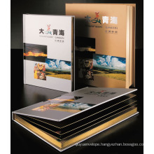 Hardcover Book Offset Printing Services
