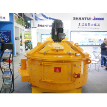 planetary vertical shaft concrete mixing console