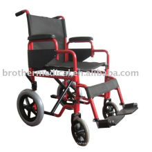 Transit Attendant Stahl Rollstuhl