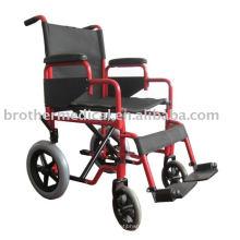 Transit Attendant Steel Wheelchair