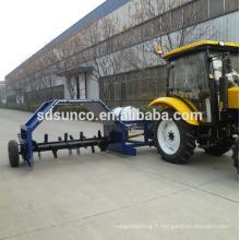 machine de compost tractable de 2m de largeur d'outil de tracteur