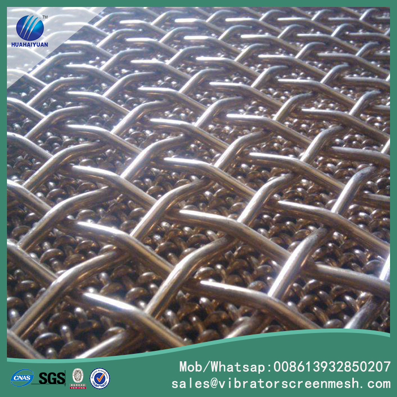 High Tensile Steel Wire Woven Screen Mesh