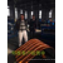 2015 venda quente! Máquina de formação de rolo de curvatura para a Índia