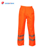 2018 New Products Cheap Work Wear Pants Safety Trousers Used Hi-vis Reflective Tape Work Pants