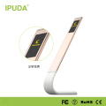 2016 Alibaba China supplier IPUDA new premium LED touch light with flexible neck micro USB input port