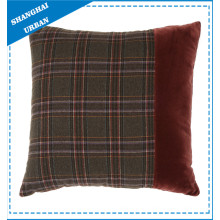100% Polyester Home Patch Work Coussins décoratifs