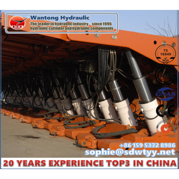 Double Telescopic Column of Hydraulic Cylinder Support for Mining